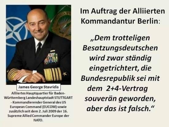 Besatzungsdeutsche 2+4 Vertrag